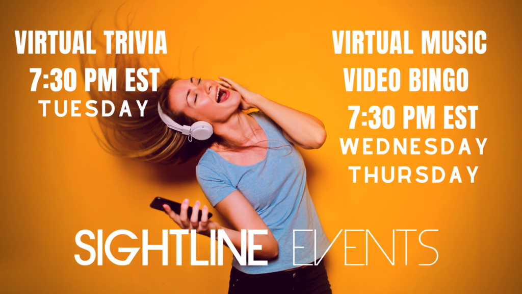 Virtual Sightline Events Parties