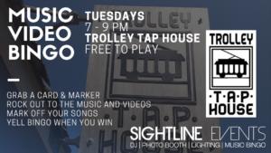 TUESDAY NIGHT - Music Video Bingo @ Trolley Tap House, Wilmington, Delaware | Wilmington | Delaware | United States